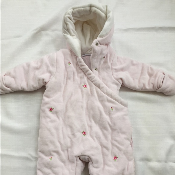 369229b85 Jackets & Coats | Sweet Baby Girl Snow Suit 12 Months | Poshmark